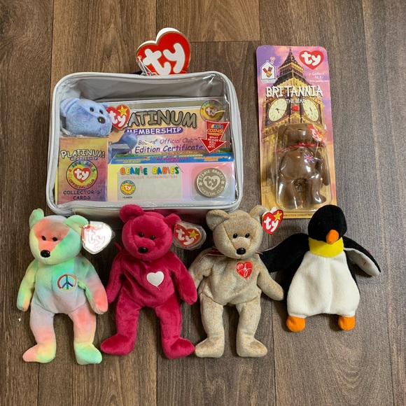 577eba432ab TY Beanie Babies Rare Collectibles